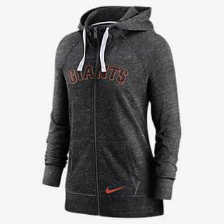 Nike Wordmark Vintage (MLB San Francisco Giants) Women's Full-Zip Hoodie