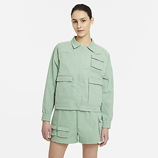 Nike Sportswear Swoosh Giacca in tessuto - Donna
