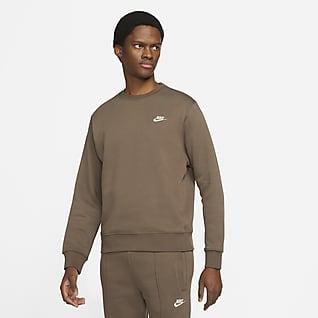 Nike Sportswear Club Fleece Erkek Crew Üst