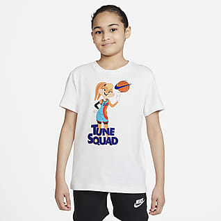 Nike Sportswear x Space Jam: A New Legacy Футболка для девочек школьного возраста