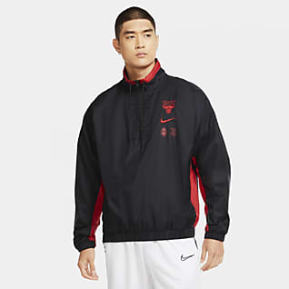 Chicago Bulls Courtside Men's Nike NBA Tracksuit Jacket