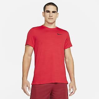 Nike Dri-FIT Superset Kurzarm-Trainingsoberteil für Herren