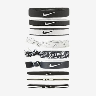 Nike Ligas para el pelo (paquete de 9)