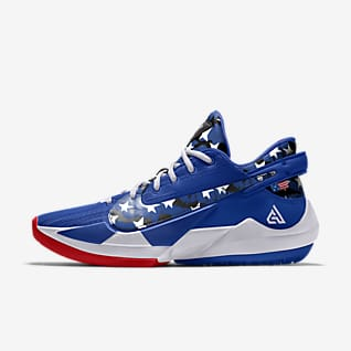 Zoom Freak 2 By You Custom Basketball Shoe