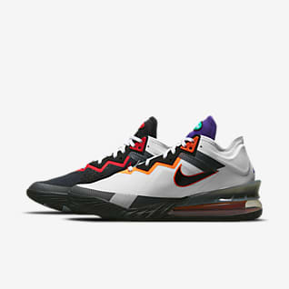 LeBron 18 Low Basketballschuh