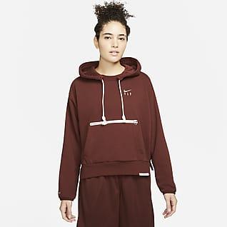 Nike Dri-FIT Swoosh Fly Standard Issue Basketball-Hoodie für Damen