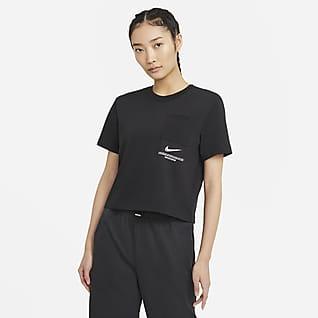 Nike Sportswear Swoosh 女子短袖上衣