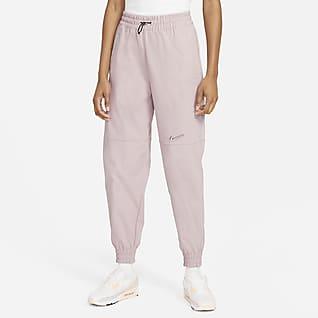 Nike Sportswear Swoosh Γυναικείο υφαντό παντελόνι