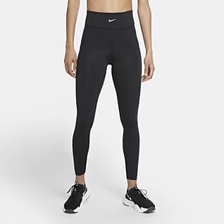 Nike Pro Stealth Luxe Tights de cintura normal para mulher