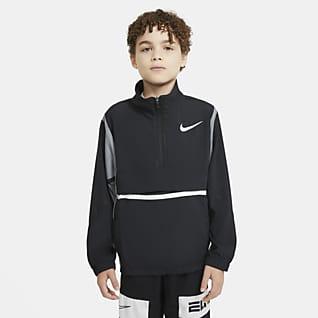 Nike Crossover Genç Çocuk (Erkek) Basketbol Ceketi
