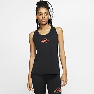 Nike City Sleek Trail-Lauf-Tanktop für Damen