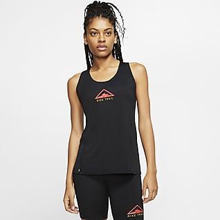 Nike City Sleek Trail-Lauf-Tanktop für Damen