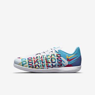 Nike Jr. Phantom GT Academy 3D IC Little/Big Kids' Indoor/Court Soccer Shoes