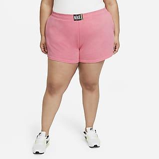 Nike Sportswear Shorts lavados para mujer (talla grande)