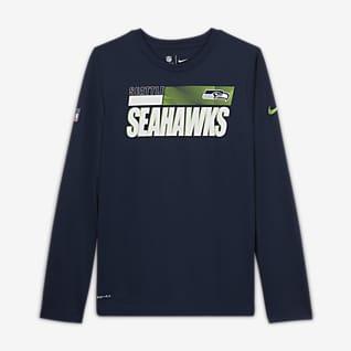 Nike Legend Sideline (NFL Seattle Seahawks) T-Shirt für ältere Kinder (Jungen)