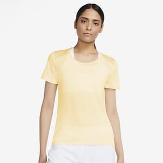 Nike Run Icon Clash Camiseta de running de manga corta para mujer