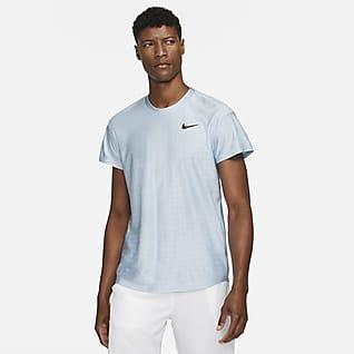 NikeCourt Dri-FIT Advantage Ανδρική μπλούζα τένις