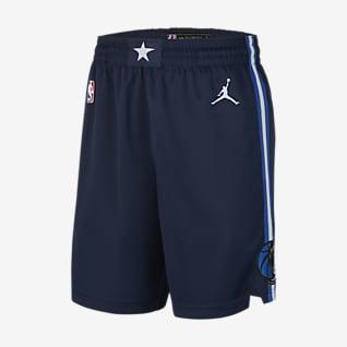 Mavericks Statement Edition 2020 Men's Jordan NBA Swingman Shorts