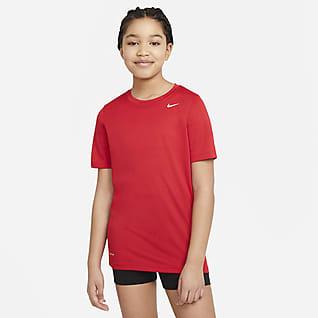 Nike Dri-FIT Trenings-T-skjorte til store barn