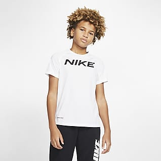 Nike Pro Big Kids' (Boys') Short-Sleeve Training Top