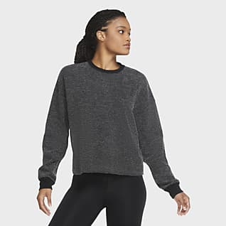 Nike Yoga Damestop met ronde hals