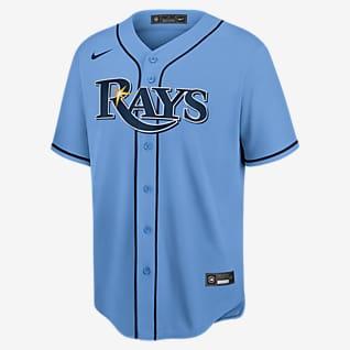 MLB Tampa Bay Rays (Kevin Kirmaier) Men's Replica Baseball Jersey