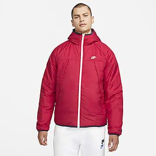 Nike Sportswear Therma-FIT Legacy Çift Taraflı Kapüşonlu Erkek Ceketi