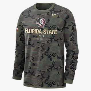 Nike College Dri-FIT (Florida State) Men's Long-Sleeve Sweatshirt