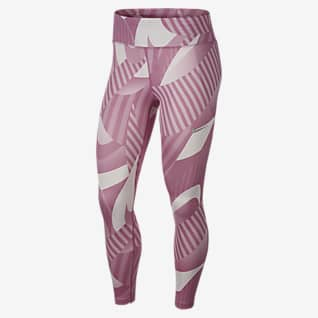 Nike Fast Mallas de running 7/8 estampadas para mujer