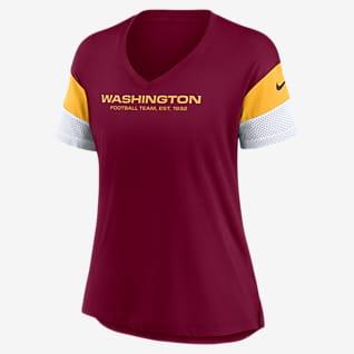Nike Dri-FIT Logo (NFL Washington Football Team) Women's V-Neck T-Shirt