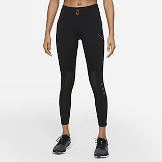 Nike Dri-FIT ADV Run Division Epic Luxe 7/8-Lauf-Leggings mit halbhohem Bund für Damen