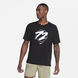 Nike Dri-FIT Miler Wild Run Erkek Koşu Üstü
