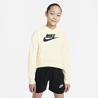 Nike Sportswear Club Fleece Big Kids' (Girls') Hoodie