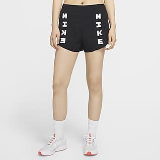 Nike Icon Clash Tempo Luxe กางเกงวิ่งขาสั้นผู้หญิง