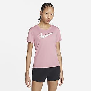 Nike Dri-FIT Swoosh Run Löpartröja för kvinnor
