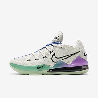 LeBron 17 Low Basketbalschoen