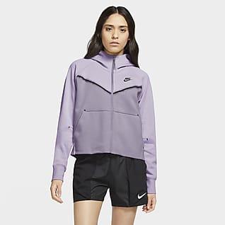 Nike Sportswear Tech Fleece Windrunner Hoodie com fecho completo para mulher