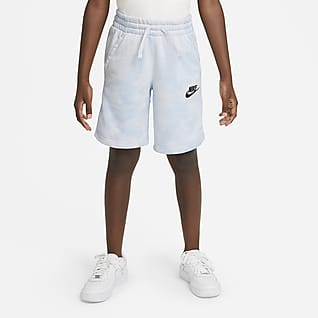 Nike Sportswear Magic Club Shorts tie-dye para niños talla grande