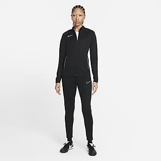 Nike Dri-FIT Academy Fodboldtræningsdragt i maskinstrik til kvinder