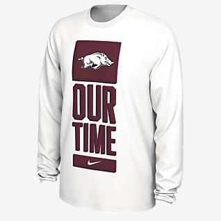 Nike College Dri-FIT (Arkansas) Men's Long-Sleeve T-Shirt