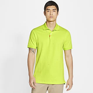 The Nike Polo Ανδρική εμπριμέ μπλούζα πόλο με στενή εφαρμογή