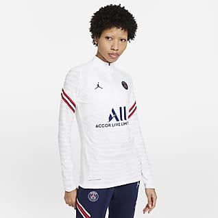 Εντός έδρας Παρί Σεν Ζερμέν Strike Elite Γυναικεία ποδοσφαιρική μπλούζα προπόνησης Nike Dri-FIT ADV