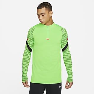 Nike Dri-FIT Strike Ανδρική ποδοσφαιρική μπλούζα προπόνησης με φερμουάρ στο 1/4 του μήκους
