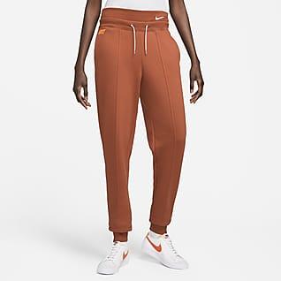 Nike Sportswear Icon Clash Comfortabele joggingbroek van fleece voor dames