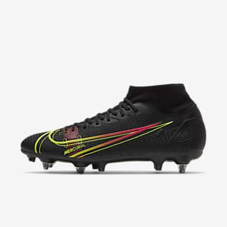 Nike Mercurial Superfly 8 Academy SG-Pro AC Stoplis futballcipő lágy talajra