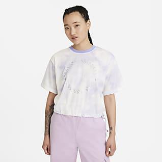 Nike Sportswear Icon Clash เสื้อแขนสั้นผู้หญิง