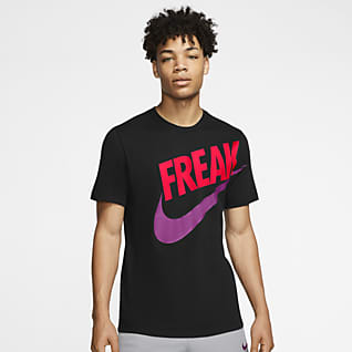"Nike Dri-FIT Giannis ""Freak"" Basket-t-shirt för män"