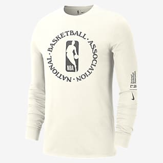 Team 31 Courtside Playera de manga larga Nike NBA para hombre