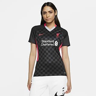 Liverpool FC alternativa Stadium 2020/21 Camiseta de fútbol para mujer
