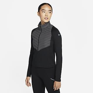 Nike Therma-FIT Run Division Hybrid 女子跑步上衣